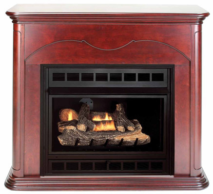 Comfort Glow Vent-Free Gas Fireplaces require no venting or chimney and can  be installed virtually anywhere. Vent-Free systems provide three times more  heat ... - Comfortflame
